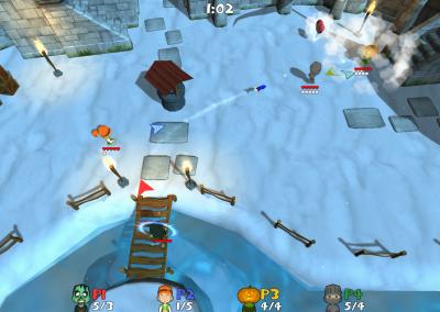 Super Snow Fight - Castle