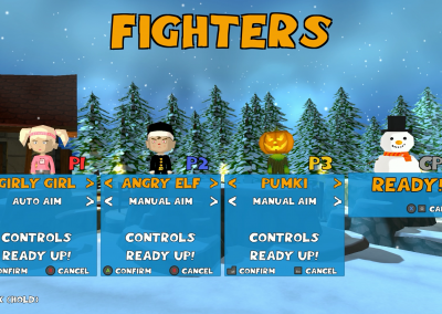Super Snow Fight - Fighters