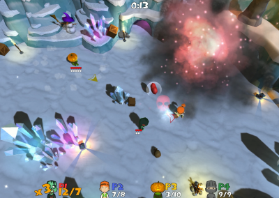 Super Snow Fight at the Mine 2